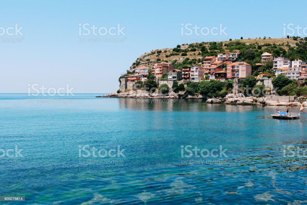 Karadeniz Amasra, Türkiye'de stok fotoğrafı