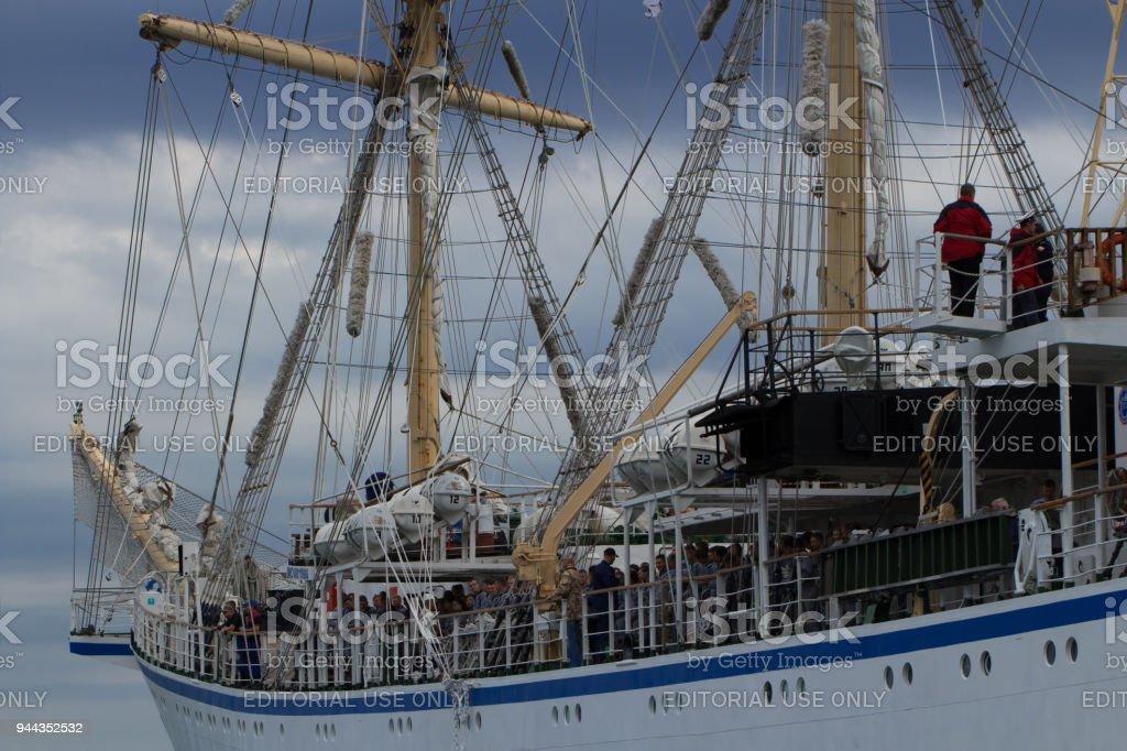SCF Black Sea Tall Ships Regatta 2016, Varna stock photo