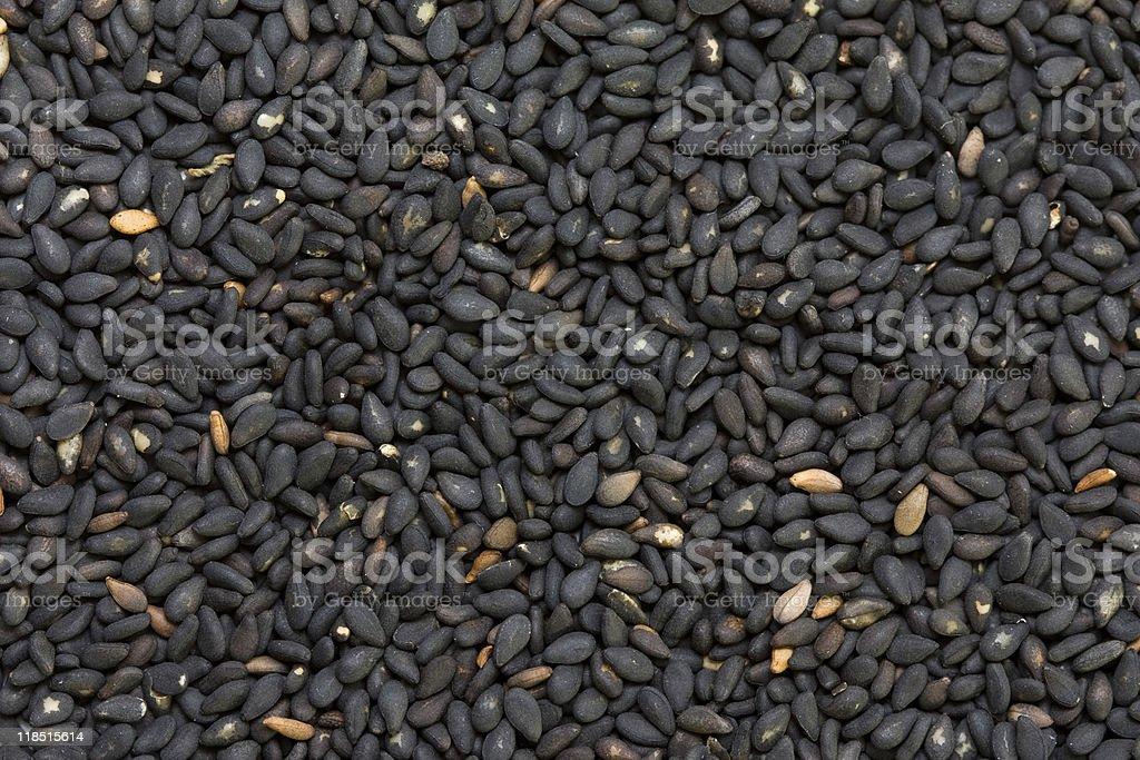 Black sesame royalty-free stock photo
