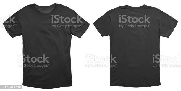 Zwart Shirt Ontwerpsjabloon Stockfoto en meer beelden van Advertentie