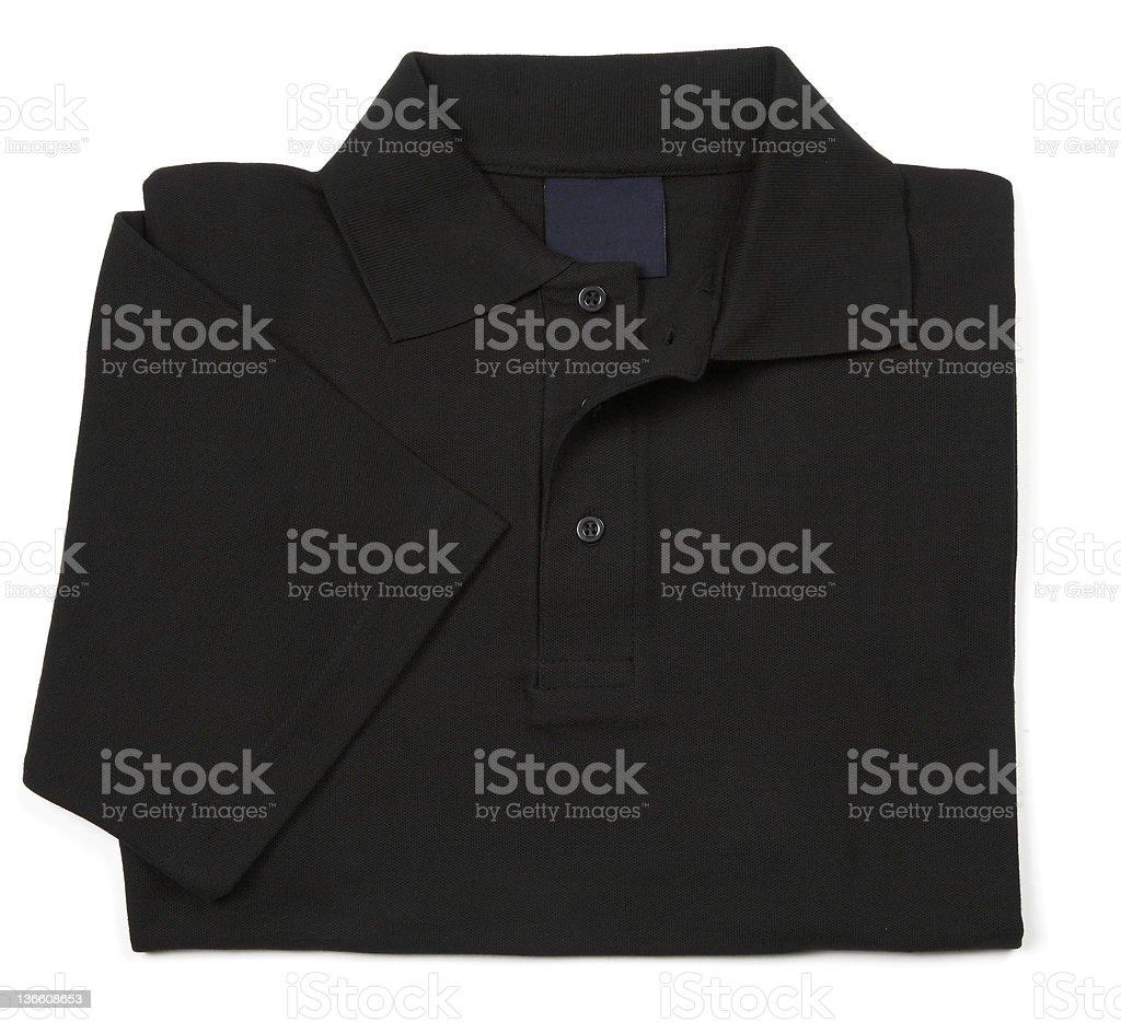black shirt stock photo