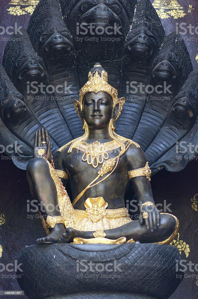 Black Shiva stock photo