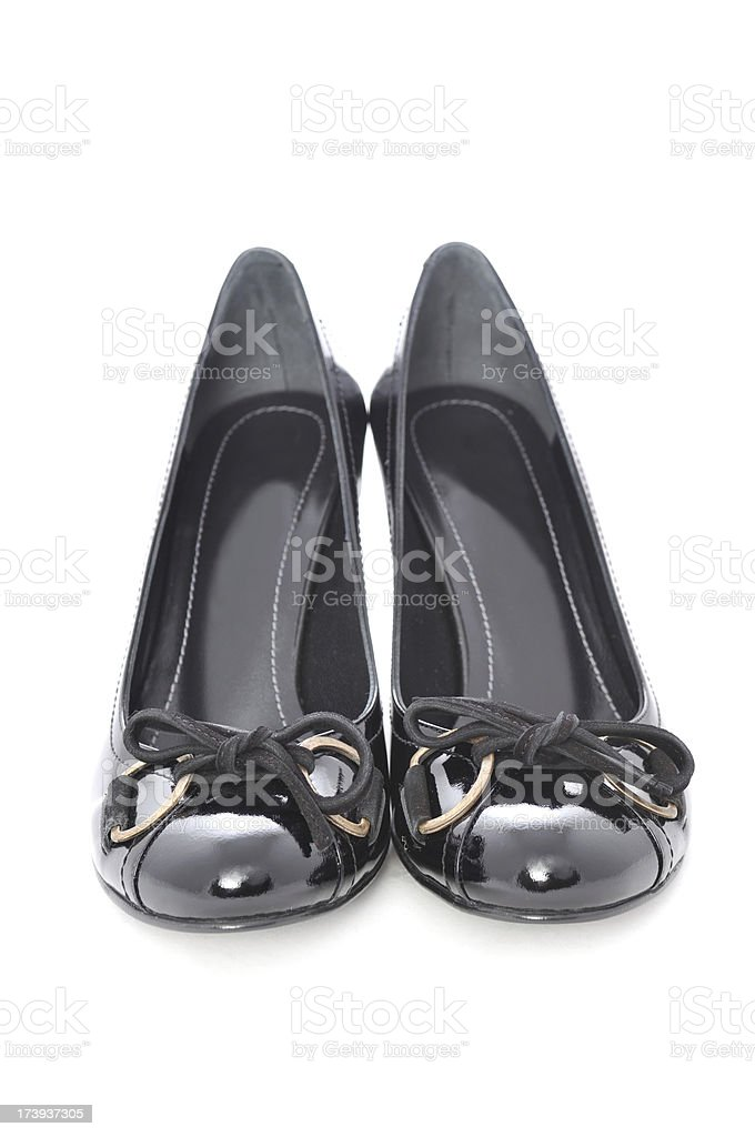 Black Shoe royalty-free stock photo