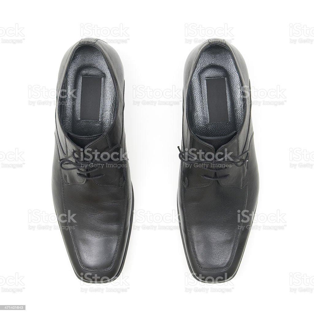 Black shoe stock photo