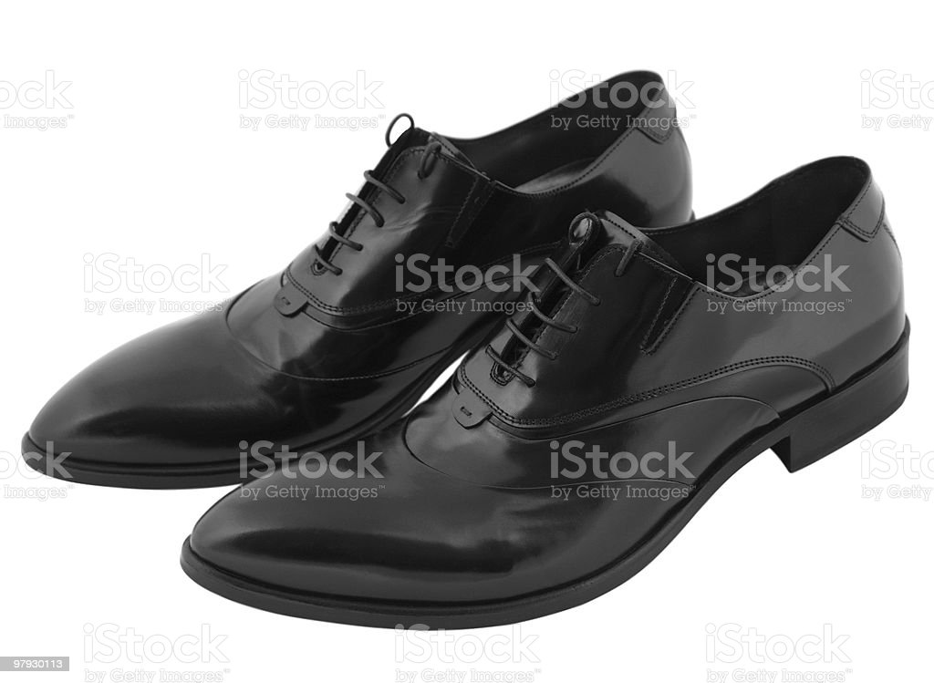 Black shoes royalty-free stock photo