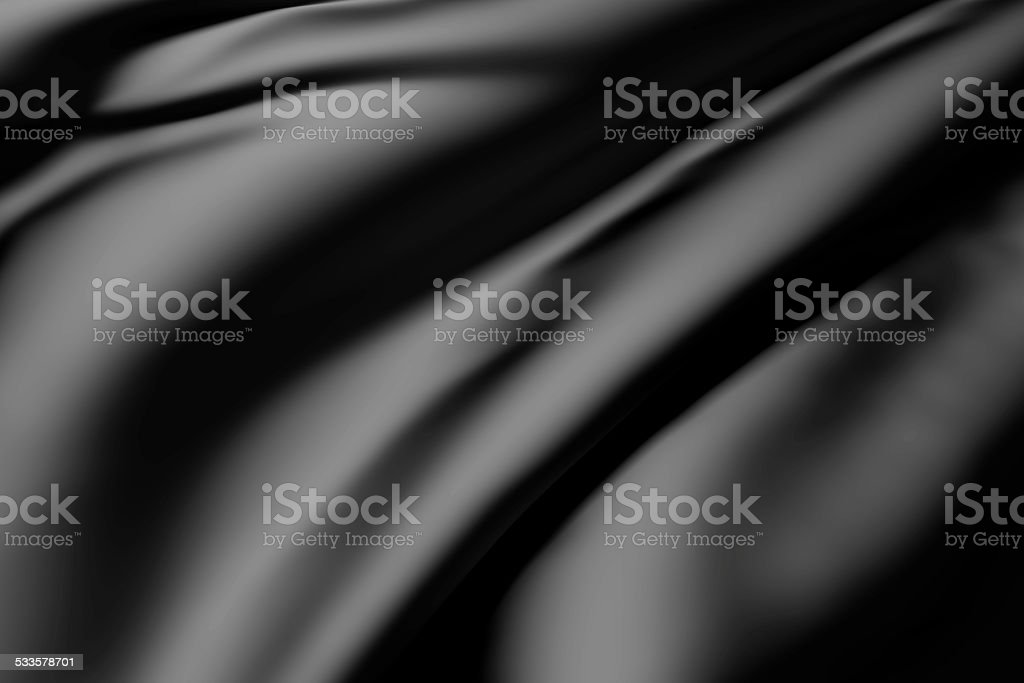 black silk stock photo