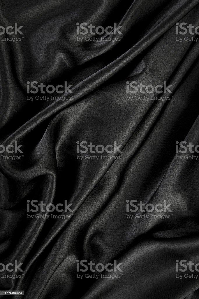 black silk / velvet cloth background stock photo