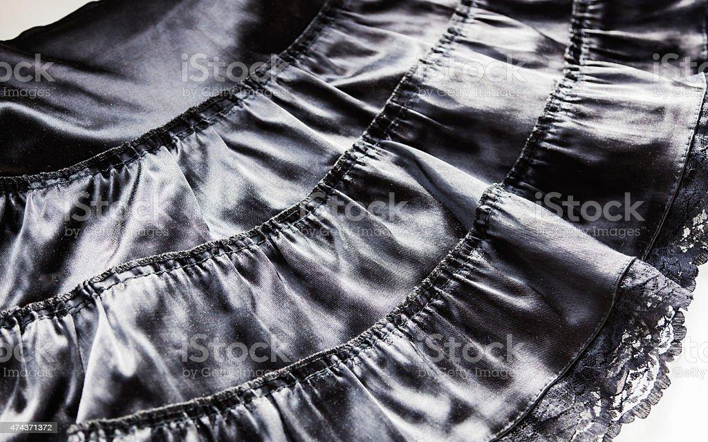 Black skirt stock photo