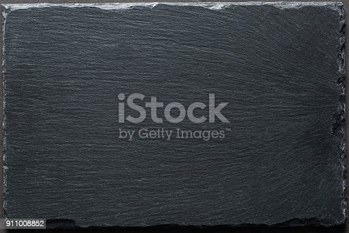 istock Black slate background top view 911008852