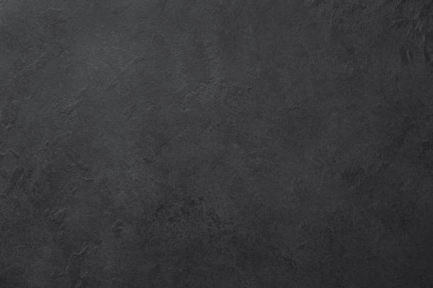 Black slate or stone texture background - foto stock