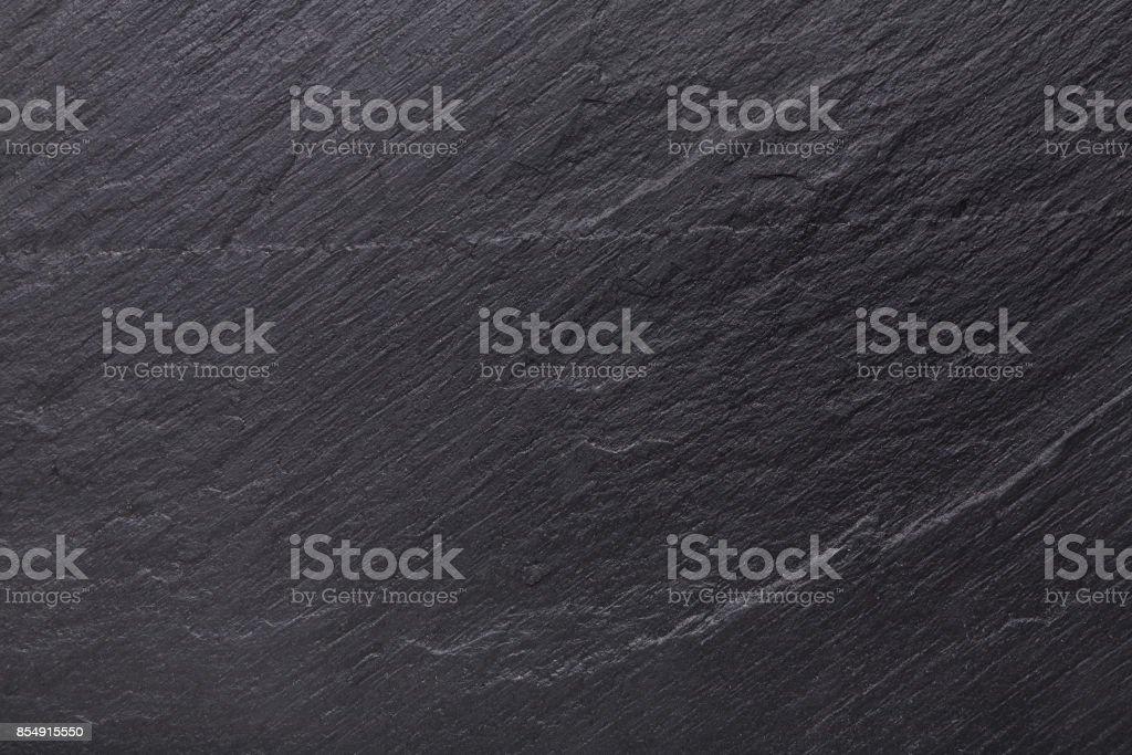 Black slate stone background stock photo