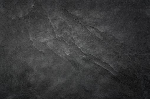 Black Slate Texture Background - Stone - Grunge Texture