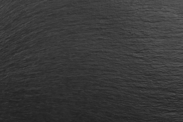 Black slate texture stock photo