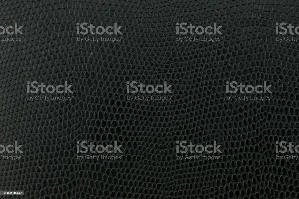 Black snake Leather background texture stock photo