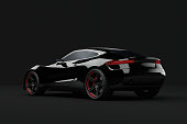 3D Rendering image showing a concept design made by my own. This is one image out of a series with different angles. This is the perfect stuff for people how need race cars, supersport cars without any manufacture brand.