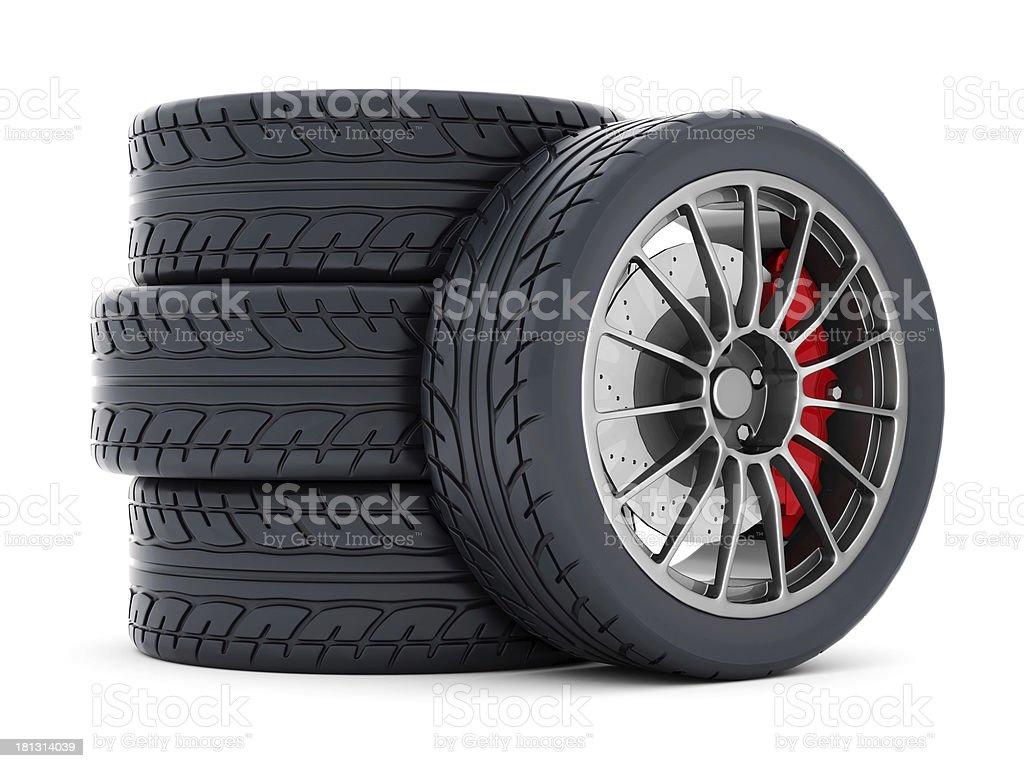 Schwarz sport Auto – Foto