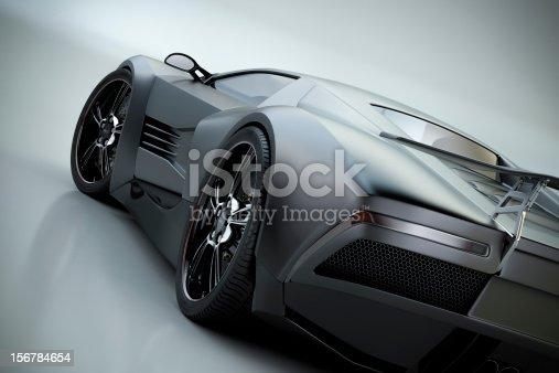 istock Black Sports Car 156784654