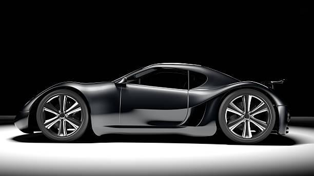 black sports car - wheel black background bildbanksfoton och bilder
