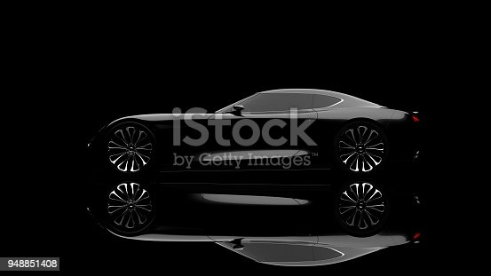 911192004 istock photo black sportscar studio shot 948851408