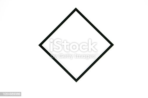 istock black square isolated on white background, freestanding black frame, abstract framework photography 1054689386