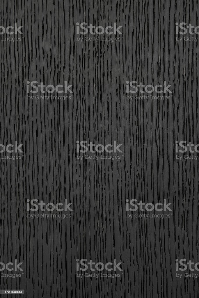 Black Stained Wood Background stock photo