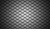 istock Black stainless steel armor background 683461942