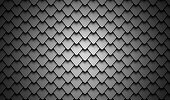 Black stainless steel armor background