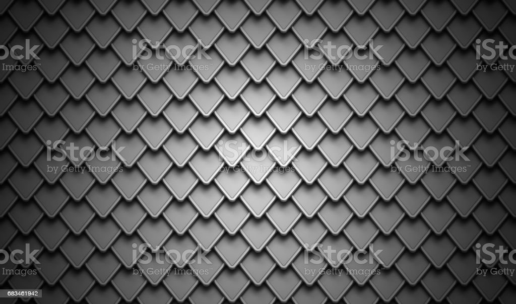 Black stainless steel armor background stock photo