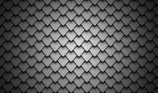 black stainless steel armor background - indumento corazzato foto e immagini stock