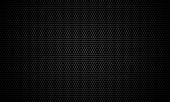 Black stainless steel mesh background.