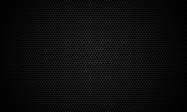 black stainless steel mesh background. - grid pattern stock photos and pictures