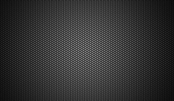 Black stainless steel mesh background. stock photo