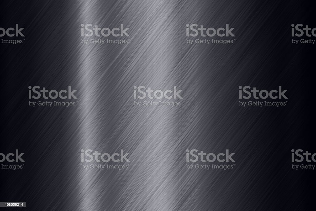 Black steel surface background stock photo
