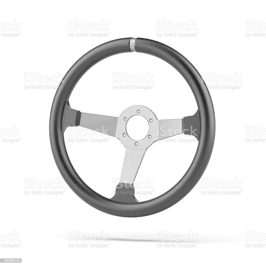 Black Steering Wheel royalty-free stock photo