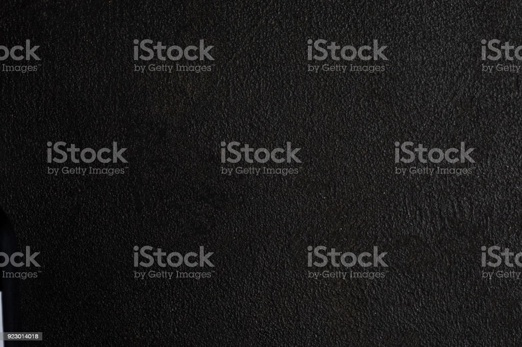 Black stone background - Abstract concrete textured blackboard  for text or design.'n stock photo
