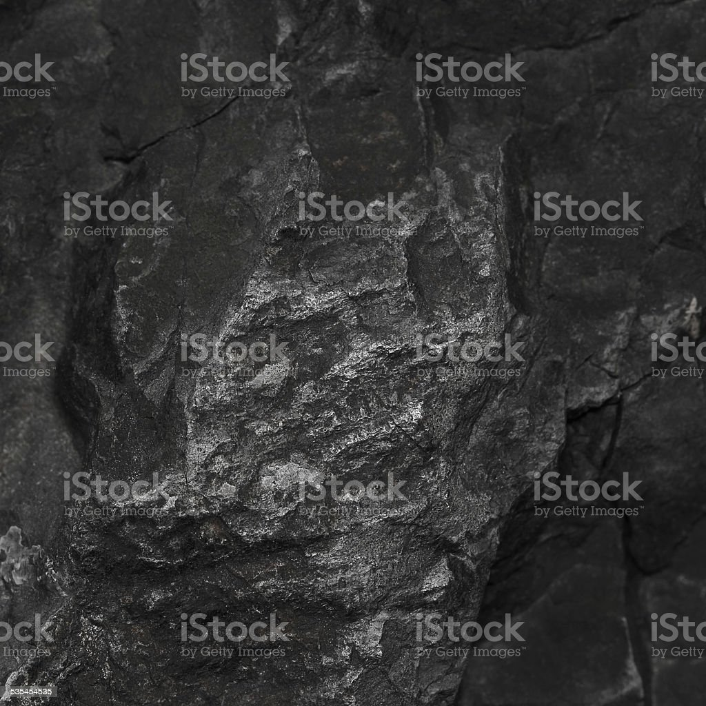 Black stone for pattern stock photo