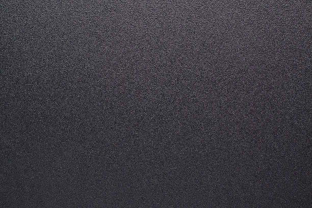 Pietra sfondo nero martellata - foto stock