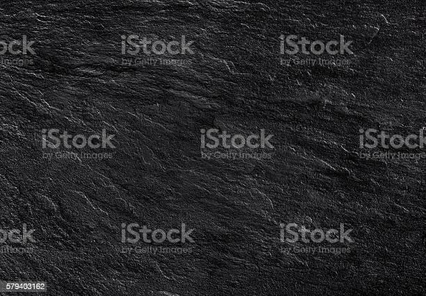 Photo of black stone texture background