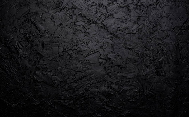 Black stone texture, dark slate background, top view Black stone texture, dark slate background, gray industry concrete wall, top view lava stock pictures, royalty-free photos & images