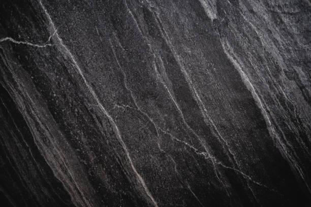 Black Stone Texture, luxury black stone background , vignette border stock photo