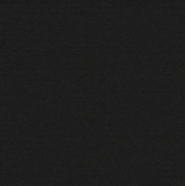 Schwarz gestreift wolle Anzug Stoff Hintergrund – Foto