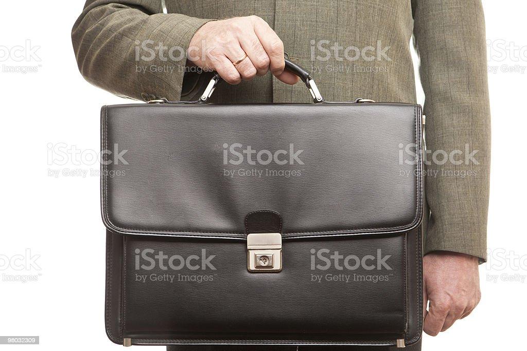 Black suitcase royalty-free stock photo