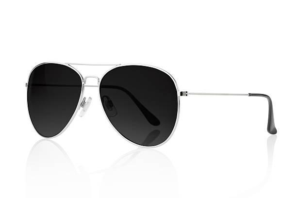 Negro, gafas de sol - foto de stock