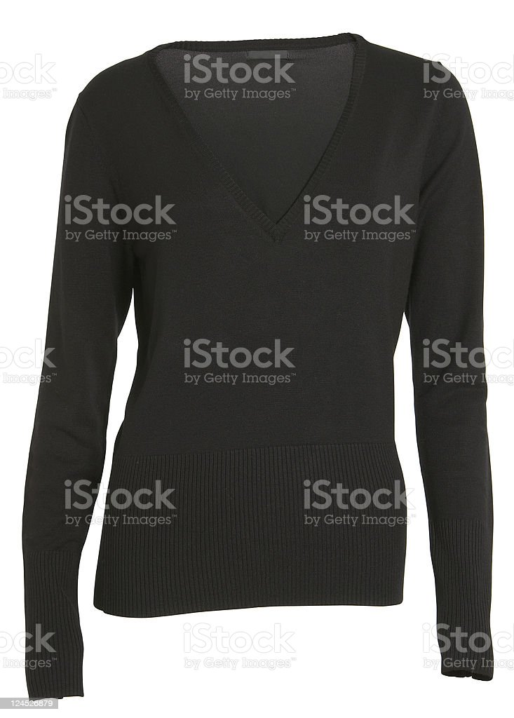 black sweater royalty-free stock photo