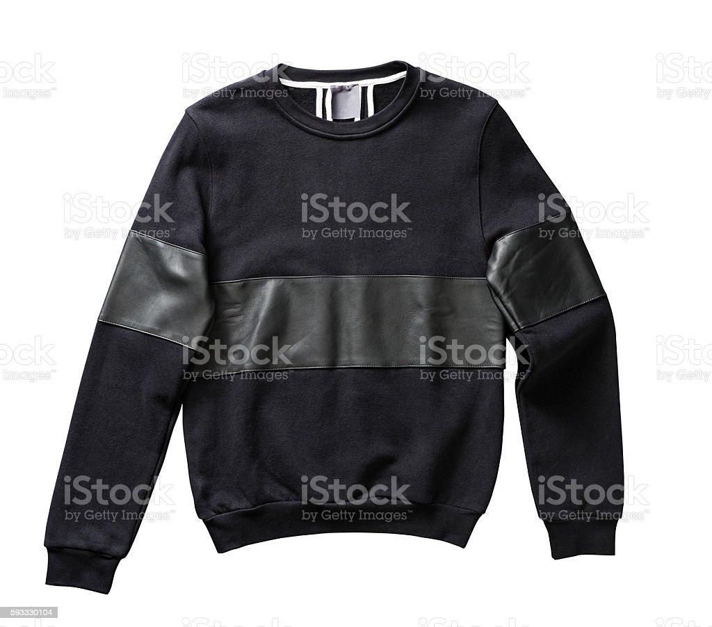black sweatshirt stock photo