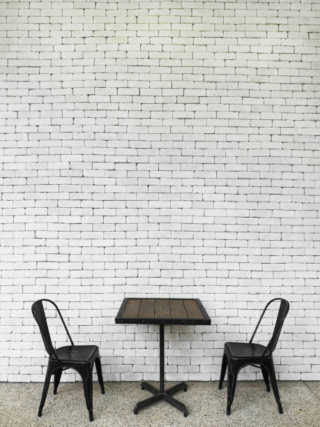 Black table and chairs – zdjęcie
