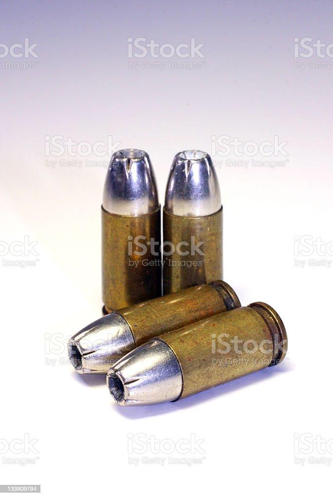 Black Talon - Pistol stock photo