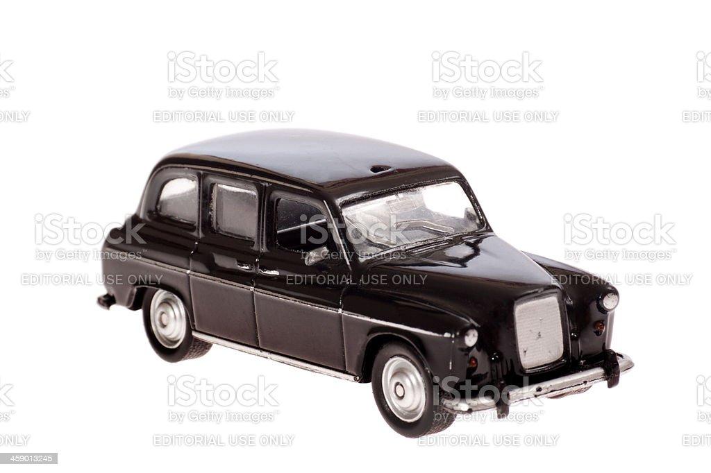 Black Taxi Cab stock photo
