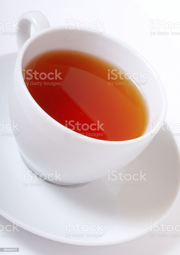 black tea cup royalty-free stock photo