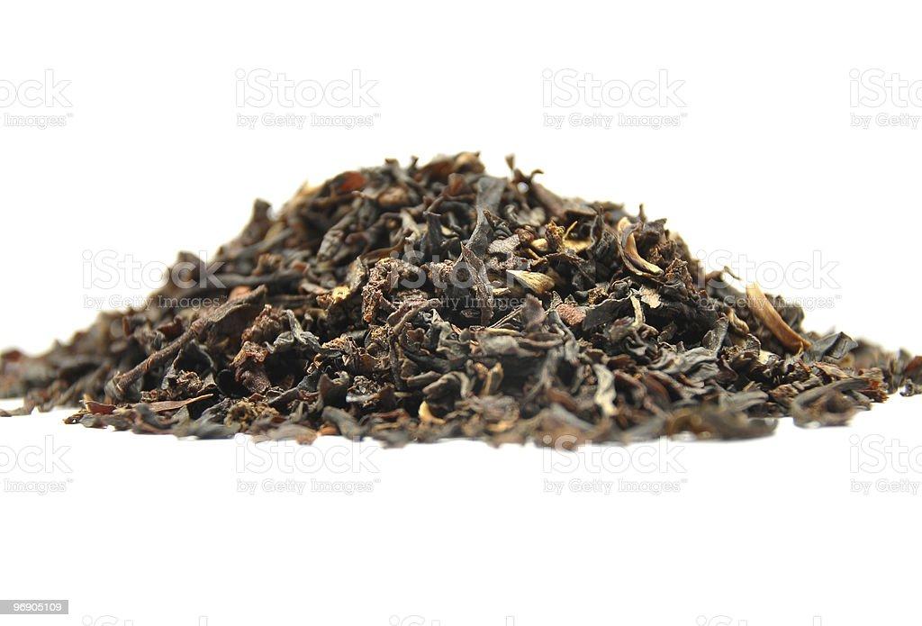 Black tea mix royalty-free stock photo